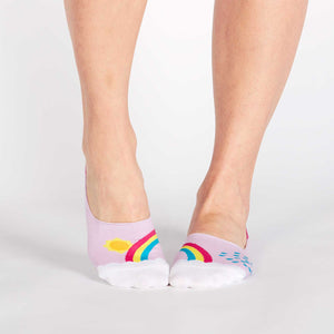 Sock it to Me No Show End of the Raintoes Womens Ankle Socks