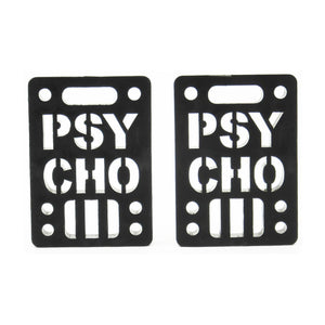 "Psycho Risers 1/4"" 2Pack"