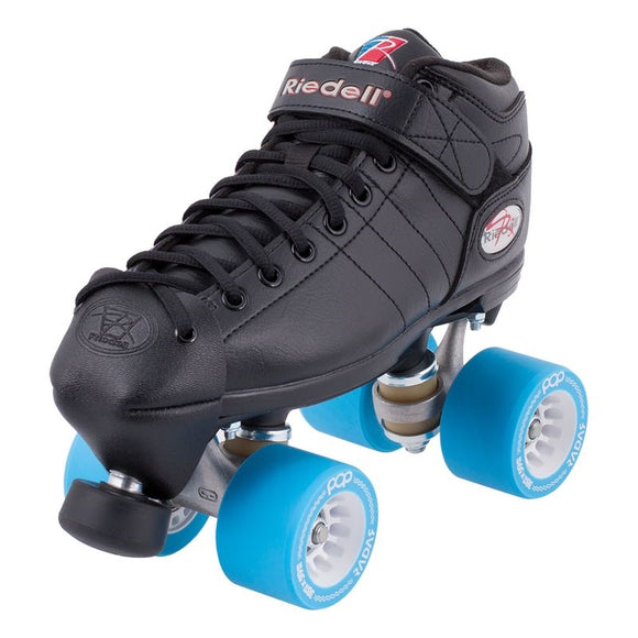 Riedell R3 Skate Derby - Pop Wheels & Toe Caps