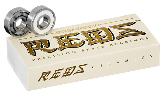 Bones Super Reds Ceramic 8mm Bearings 16 Pack