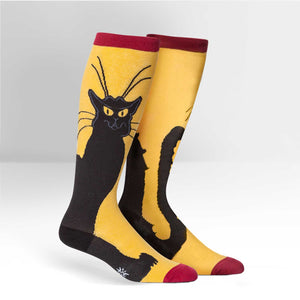 Sock it to Me Chat Noir Stretch Knee High Socks