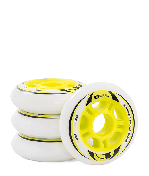 SFR Inline Skate Wheels - 4 Pack