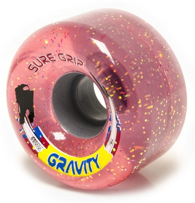 Suregrip Gravity Glitter Wheels 65mm 8Pack