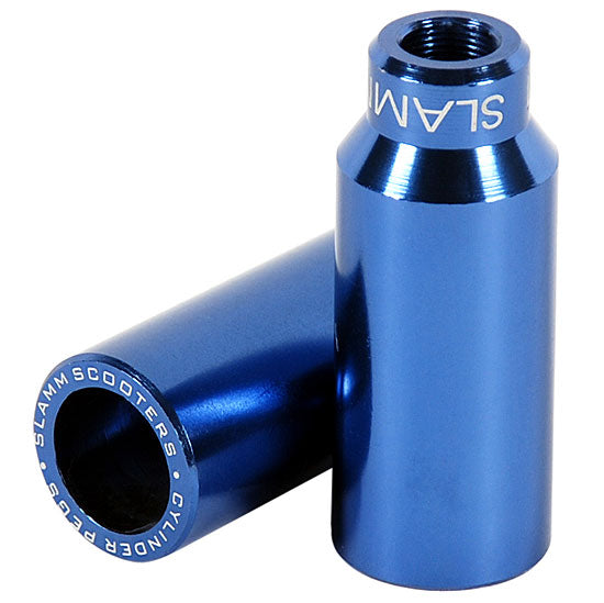 Slamm Scooters Cylinder Pegs Blue