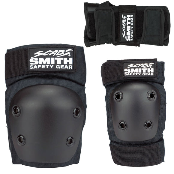 Smith Scabs Youth Tri Pack Black