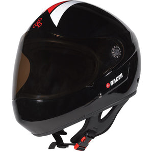 Triple 8 Racer Helmet Black Gloss