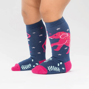 Sock it to Me Celestial Elephant Todder Knee High Socks