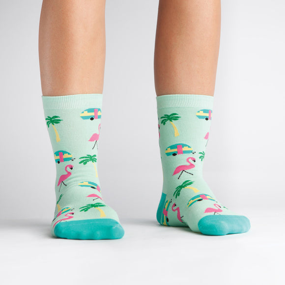 Sock it to Me Florida Womens Crew Socks