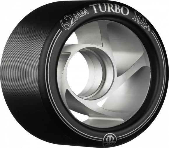 Bones Turbo Wheels 62mm Black Left Right 8 Pack