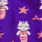 Sock it to Me Purrmaid Junior Crew Socks