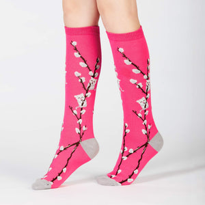 Sock it to Me Kitty Willow Junior Knee High Socks