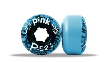 ABEC 11 Wheels Classic Park P-52's 52mm 99a Blue 4 Pack