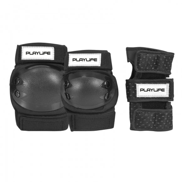 PlayLife Junior Tri Pack Black
