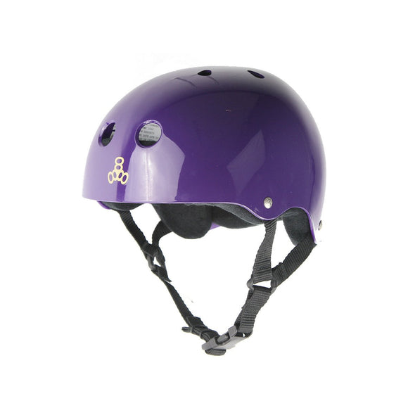 Triple 8 Skate Helmet SS Purple Gloss