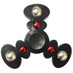 Triple 8 Fidget Spinner Black