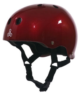 Triple 8 Skate Helmet SS Red Metallic