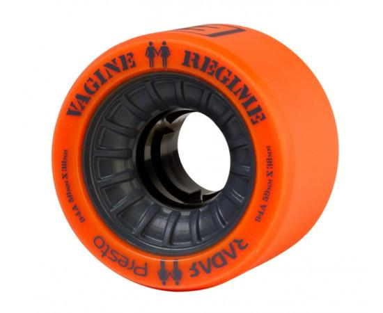 Radar Presto Wheels Vagine Regime LE 59mm 94a Orange 4 Pack