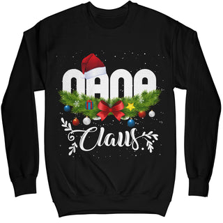 Nana Claus Funny Ugly Christmas Sweater Shirt MIKAPPAREL