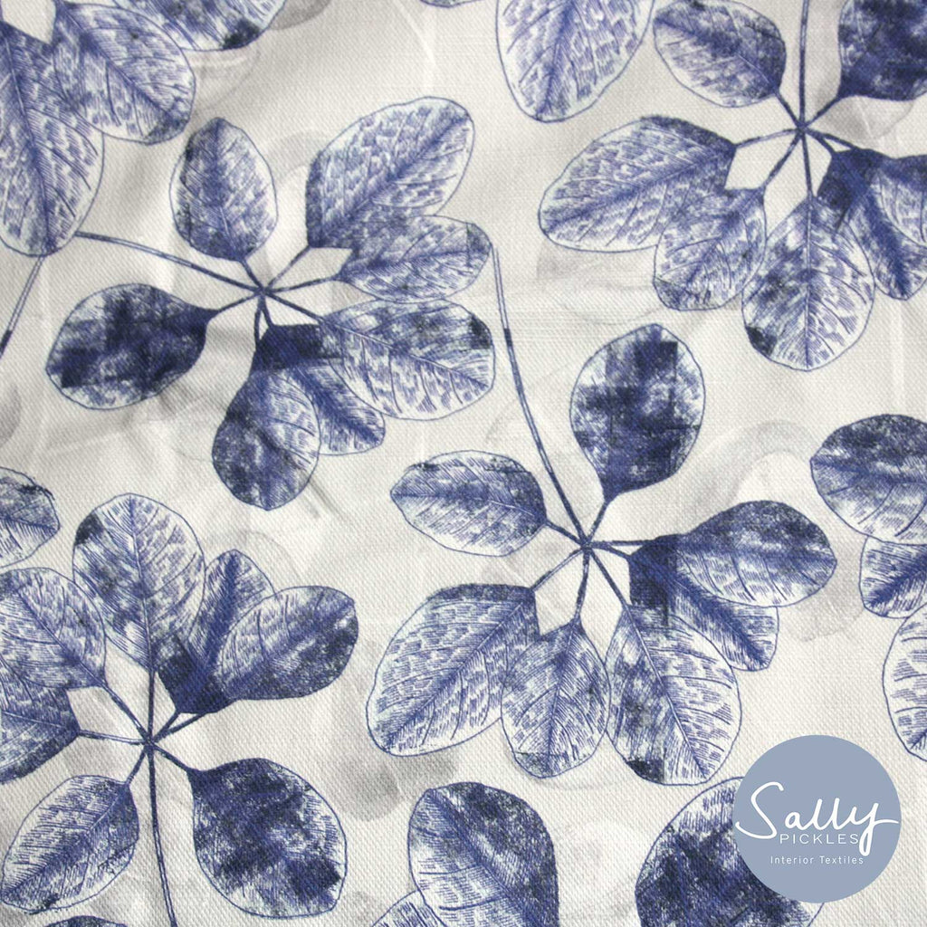 Botanical Blue Fabric