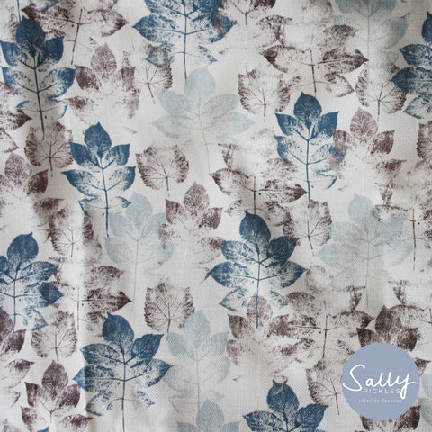 Leaf stem - Dove grey Fabric