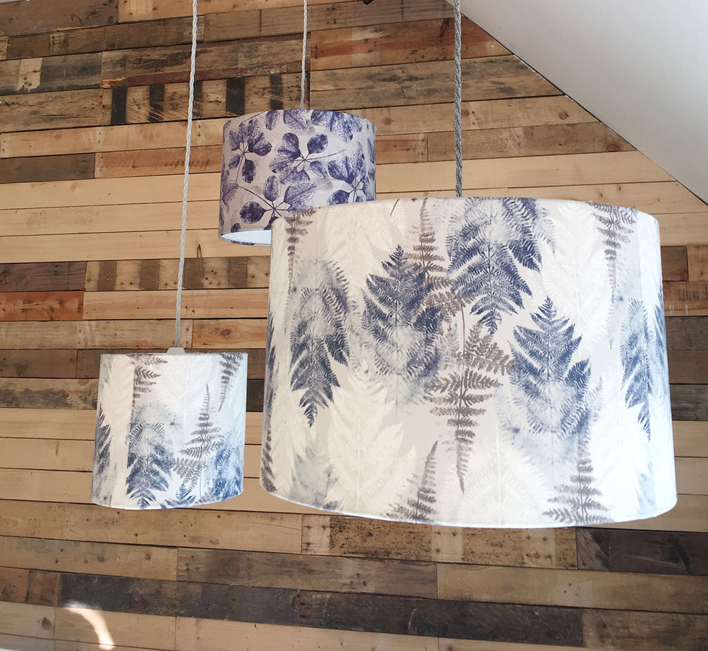 Fern - Dove Grey Lampshade