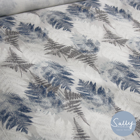 Fern - Dove Grey Fabric
