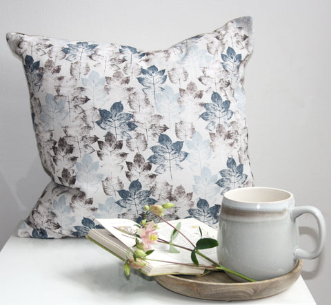 Leaf Stem - Grey Cushion