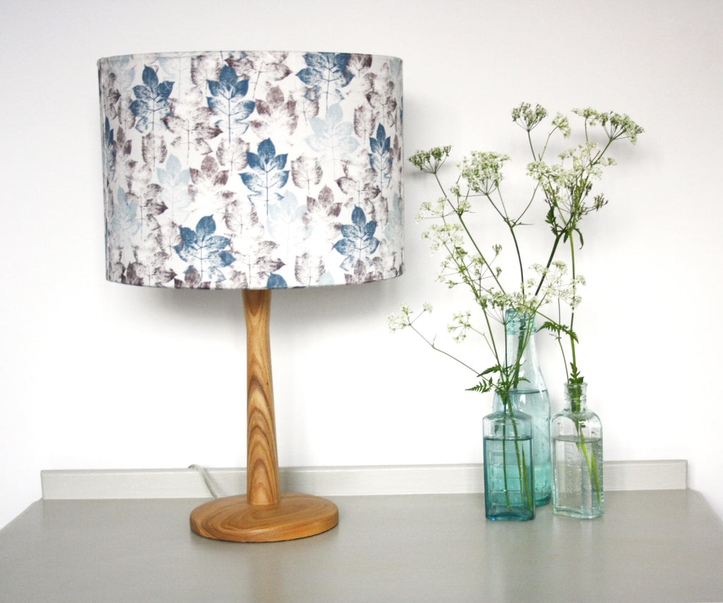 Leaf Stem - Dove grey Lampshade