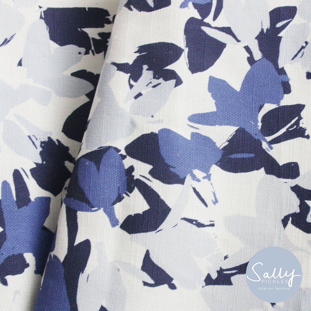Blue Shadow Fabric
