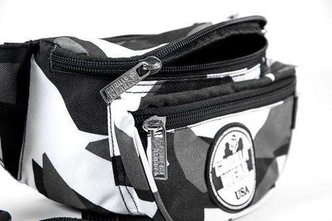 Gorilla Wear Stanley Fanny Pack - Gray / White Camo