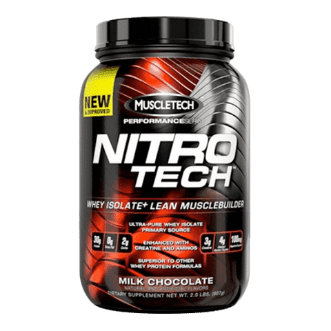 MuscleTech NitroTech Performance Series | Spiermassa | Nutrition Maniacs