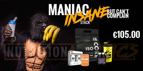 The Maniac Insane and can't complain! Maintenance stack