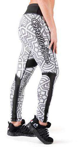 Gorilla Wear Pueblo Tights - Black/White - L