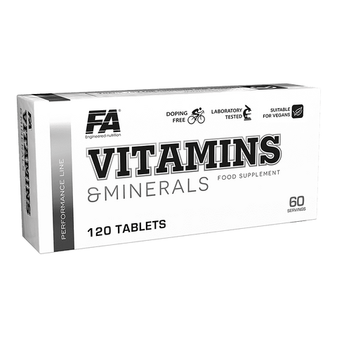 Performance Line VITAMINS & MINERALS blisters | Vitamines en mineralen | Nutrition Maniacs