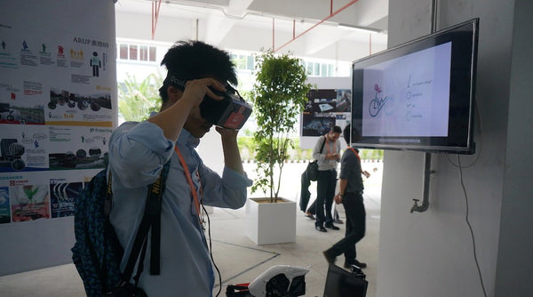 The immersive virtual reality process transformed the process of displaying Arup's plans, allowing participants to visualize how smart planning can ensure smarter, more sustainable growth.
