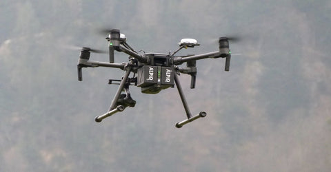 DJI Matrice 210 RTK UAV in use by Alpiq EnerTrans in Switzerland