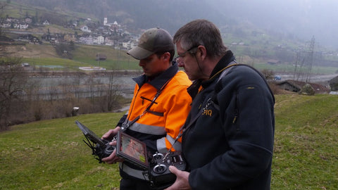 Alpiq EnerTrans Switzerland Drone Operators
