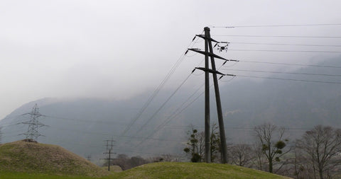 Electricity Transmission Lines in Switzerland