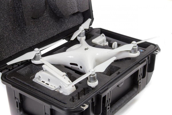 CasePro DJI Phantom 4 / Phantom 4 Pro Carry-On Hard Case