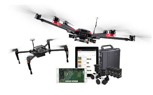 DJI Matrice 100 Smarter Farming Kit - Powered by PrecisionHawk