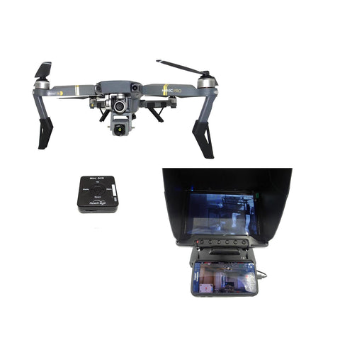 DJI Mavic Ready to Fly Thermal Solution - 4K Video & FLIR Thermal Video Simultaneously