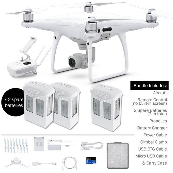 DJI Phantom 4 Pro (+ 2 Spare Batteries)
