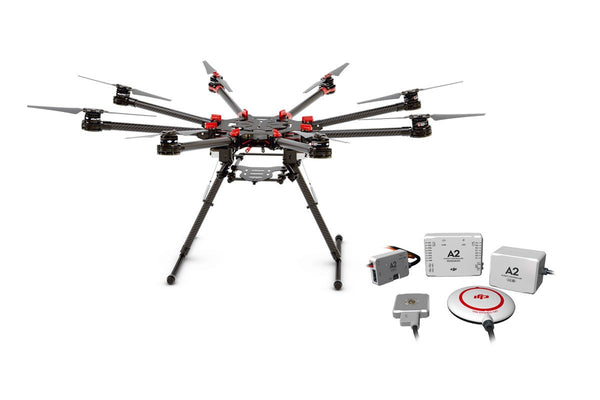 Spreading Wings S1000+ Octocopter with A2 Flight Controller