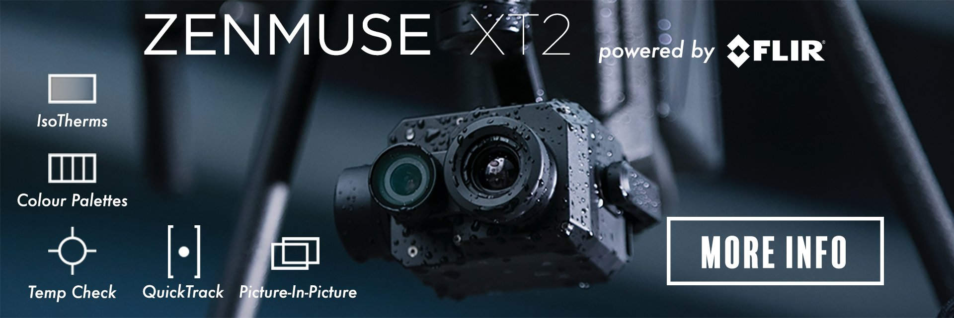 DJI Zenmuse XT2 powered by FLIR