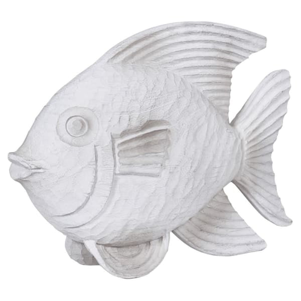 White Wood Effect Fish