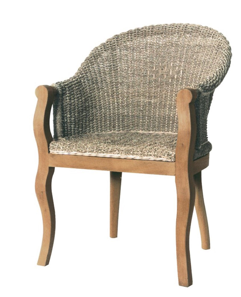 Sea Grass Carver Chair