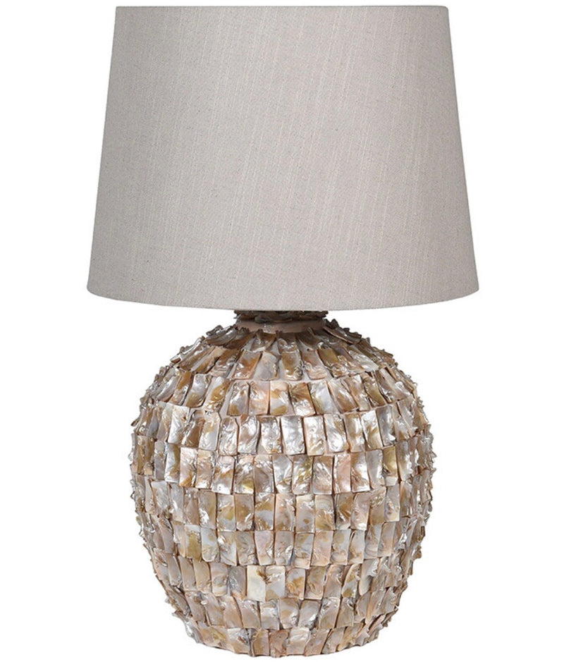 Mother of Pearl Effect Lamp