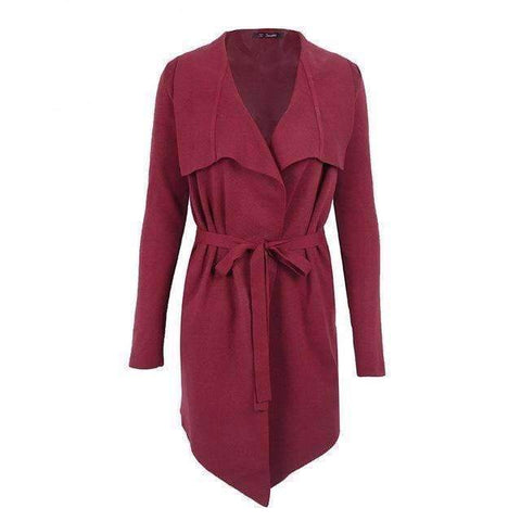 Fashion Belted Winter Cardigan - Abi'sdress