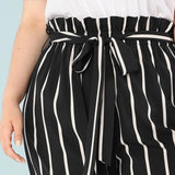 Fashion Plus Size Straight Trousers