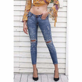 Pearl Skinny Pencil Jean Pants
